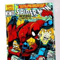 Comics: SPIDER-MAN 23 - MARVEL 1992 VFN/NM / ERIK LARSEN / SINISTER SIX / HULK / NOVA / DEATHLOK. Lote 267323804