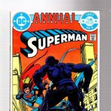 Comics: SUPERMAN ANNUAL 9 - DC 1983 FN/VFN / ELLIOTT MAGGIN & ALEX TOTH / BATMAN. Lote 267367684