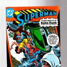 Comics: SUPERMAN RADIO SHACK GIVEAWAY - DC 1980 VFN-. Lote 267369469