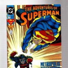 Comics: SUPERMAN 506 ADVENTURES OF - DC 1993 VFN/NM / VS SUPERBOY. Lote 267369979