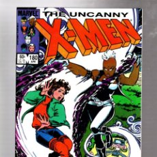 Comics: UNCANNY X-MEN 180 - MARVEL 1984 VFN/NM / CLAREMONT & ROMITA JR. Lote 268076539
