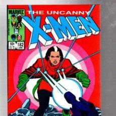 Comics: UNCANNY X-MEN 182 - MARVEL 1984 VFN+ / CLAREMONT & ROMITA JR / SOLO ROGUE ADVENTURE. Lote 268082999