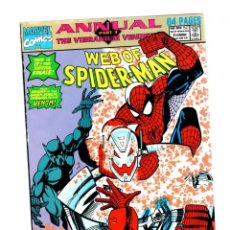 Cómics: WEB OF SPIDER-MAN ANNUAL 7 - MARVEL 1991 FN/VFN / BLACK PANTHER / ULTRON. Lote 268589844