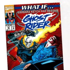 Cómics: WHAT IF 45 - MARVEL 1993 VFN/NM / BARBARA KETCH HAD BECOME GHOST RIDER ?. Lote 268591129