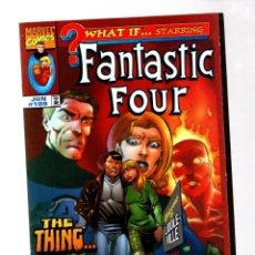Cómics: WHAT IF 109 FANTASTIC FOUR HUMAN AGAIN - MARVEL 1998 VFN/NM. Lote 268591369
