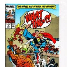 Cómics: WHAT THE... ? 2 - MARVEL 1988 VFN/NM / SUPERMAN VS FANTASTIC FOUR PARODY. Lote 268591699