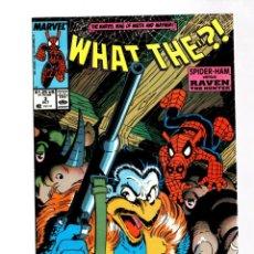 Cómics: WHAT THE ? 3 - MARVEL 1988 VFN/NM / SPIDER-HAM VS RAVEN THE HUNTER. Lote 268591994