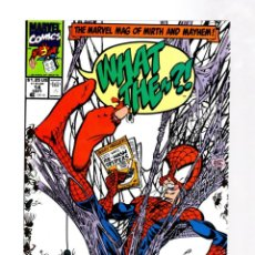 Cómics: WHAT THE... ? 14 - MARVEL 1991 VFN+ / SPIDER-MAN PARODY. Lote 268592199