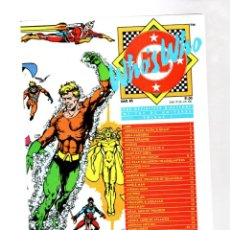 Cómics: WHO'S WHO THE DEFINITIVE DIRECTORY OF THE DC UNIVERSE 1 - DC 1985 VFN+. Lote 268592774