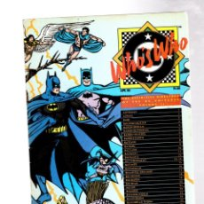 Cómics: WHO'S WHO THE DEFINITIVE DIRECTORY OF THE DC UNIVERSE 2 - DC 1985 VFN+. Lote 268593139