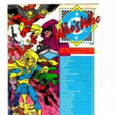 Cómics: WHO'S WHO THE DEFINITIVE DIRECTORY OF THE DC UNIVERSE 6 - DC 1985 VFN. Lote 268593664