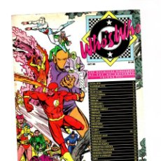 Cómics: WHO'S WHO THE DEFINITIVE DIRECTORY OF THE DC UNIVERSE 8 - DC 1985 VFN. Lote 268593789
