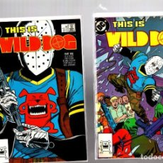 Comics: WILD DOG 1 2 3 4 COMPLETA - DC 1987 VFN/NM. Lote 268746624