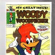 Comics: WOODY WOODPECKER 1 - HARVEY 1991 VFN/NM. Lote 268748654