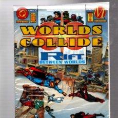 Comics: WORLDS COLLIDE 1 - DC MILESTONE 1994 NM / EN BOLSA SIN ABRIR CON FIGURAS DE VINILO. Lote 268753139