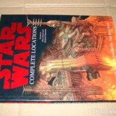 Cómics: STAR WARS: COMPLETE LOCATIONS, 2005, DORLING KINDERSLEY, MUY BUEN ESTADO. Lote 268795744