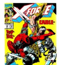 Comics: X-FORCE 15 - MARVEL 1992 VFN/NM / FABIAN NICIEZA & GREG CAPULLO / DEADPOOL VS CABLE. Lote 268803909