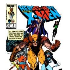 Comics: X-MEN HEROES FOR HOPE - MARVEL 1985 VFN / JOHN BYRNE / BERNI WRIGHTSON / RICHARD CORBEN / MILLER.... Lote 268814169