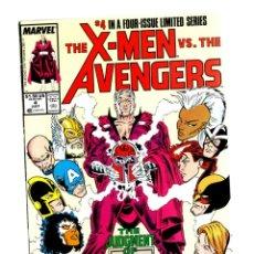Comics: X-MEN VS AVENGERS 4 - MARVEL 1987 VFN- / ROGER STERN & MARC SILVESTRI. Lote 268815689