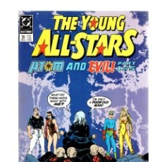 Comics: YOUNG ALL-STARS 21 - DC 1989 VFN/NM. Lote 268816614
