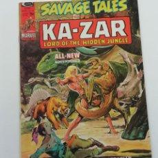 Cómics: SAVAGE TALES Nº 6, KA-ZAR (1974) CON JOHN BUSCEMA, WILLIAMSON Y OTROS. BUEN ESTADO. Lote 269067573