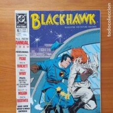 Comics : BLACKHAWK ANNUAL Nº 1 - 1989 - DC - EN INGLES (Y1). Lote 269373173