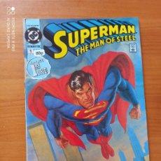 Cómics: SUPERMAN THE MAN OF STEEL Nº 1 - 1991 - DC - EN INGLES (Y2). Lote 269836508