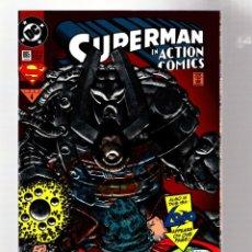 Comics : ACTION COMICS 695 SUPERMAN - DC 1993 VFN/NM SILVER FOIL COVER / LOBO. Lote 269997328