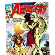 Cómics: AVENGERS 348 - MARVEL 1992 VFN/NM / WHITE VISION KISS COVER. Lote 271553453