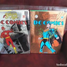 Cómics: DC CÓMICS: THE SILVER AGE 1956-1970 - THE BRONZE AGE 1970 - 1984 - PAUL LEVITZ - TASCHEN. Lote 271564088