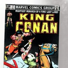 Cómics: KING CONAN 17 - MARVEL 1983 VFN / ALAN ZELENETZ & JOHN BUSCEMA. Lote 272955513