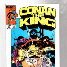 Cómics: KING CONAN 22 - MARVEL 1984 VFN / ALAN ZELENETZ & GEOF ISHERWOOD / PORTADA MIKE KALUTA. Lote 272956188