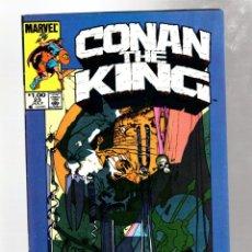 Cómics: KING CONAN 23 - MARVEL 1984 VFN / ALAN ZELENETZ & MARC SILVESTRI / PORTADA MIKE KALUTA. Lote 272956368