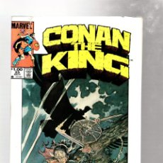 Cómics: KING CONAN 25 - MARVEL 1984 VG / ALAN ZELENETZ & MARC SILVESTRI / PORTADA MIKE KALUTA. Lote 272956873