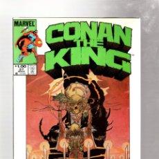 Cómics: KING CONAN 27 - MARVEL 1985 VFN- / ALAN ZELENETZ & MARC SILVESTRI / PORTADA MIKE KALUTA. Lote 272957298