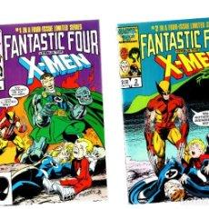 Cómics: FANTASTIC FOUR VS X-MEN 1 2 3 4 COMPLETA - MARVEL 1987 VFN+ / CLAREMONT & BOGDANOVE. Lote 293556358