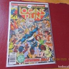 Cómics: LOGAN'S RUN Nº 2. MUY BUEN ESTADO. MARVEL USA. Lote 275471668