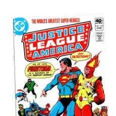 Cómics: JUSTICE LEAGUE OF AMERICA 179 - DC 1980 VFN- / FIRESTORM JOINS. Lote 275853943