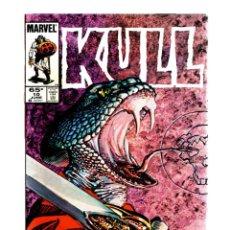 Fumetti: KULL THE CONQUEROR 10 - MARVEL 1985 VFN / JOHN BUSCEMA / PORTADA DE BARRY WINDSOR-SMITH. Lote 275858978