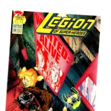 Comics : LEGION OF SUPER-HEROES 22 - DC 1991 VG+ / KEITH GIFFEN. Lote 275861993