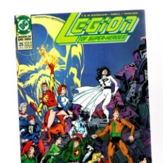 Comics : LEGION OF SUPER-HEROES 25 - DC 1991 VFN / KEITH GIFFEN. Lote 275862608