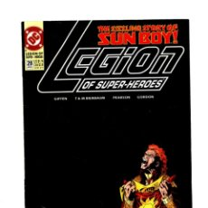 Comics : LEGION OF SUPER-HEROES 28 - DC 1992 VFN / KEITH GIFFEN. Lote 275862998