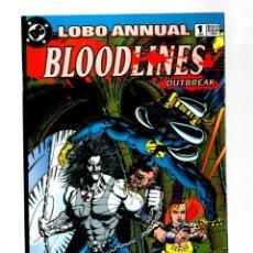 Cómics: LOBO ANNUAL 1 - DC 1993 VFN/NM. Lote 275864793