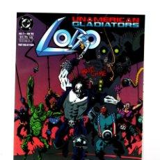 Cómics: LOBO UNAMERICAN GLADIATORS 1 - DC 1993 VFN/NM. Lote 275864993