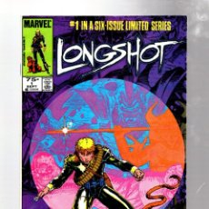 Cómics: LONGSHOT 1 - MARVEL 1985 VFN- / 1ST LONGSHOT / 1ST ARTHUR ADAMS COMIC. Lote 275865233