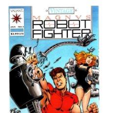 Cómics: MAGNUS ROBOT FIGHTER VINTAGE 1 - VALIANT 1992 VFN/NM. Lote 275866348