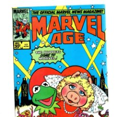Cómics: MARVEL AGE 17 - 1984 VFN / MUPPETS COME TO MARVEL!. Lote 275867093