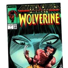 Cómics: MARVEL COMICS PRESENTS 3 - 1988 VFN / WOLVERINE POR JOHN BUSCEMA / MAN-THING / SHANG CHI. Lote 275867988