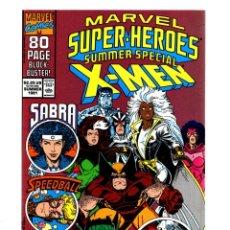 Cómics: MARVEL SUPER HEROES 6 - 1991 VFN/NM / X-MEN / POWER PACK / SPEEDBALL / SABRA. Lote 275876008