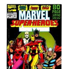 Cómics: MARVEL SUPER HEROES 9 - 1992 VFN/NM / AVENGERS WEST COAST / THOR / IRON MAN. Lote 275876338